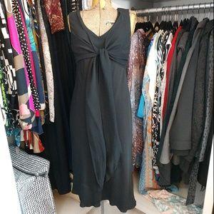 LOFT 100% Silk Little Black Dress Tie at Bodi